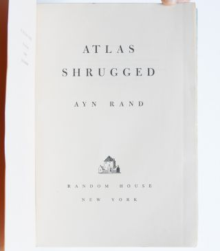 Image 5 of 9 for Atlas Shrugged (Presentation Copy