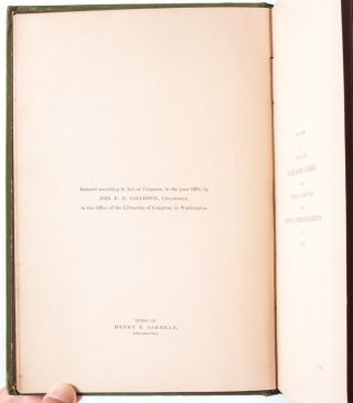 The National Cookery Book: Compiled from Original Receipts for the Women's Centennial Committees of the International Exhibit of 1876