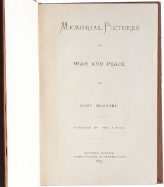 Image 4 of 7 for Memorial Pictures of War and Peace