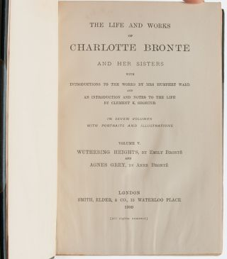 Image 7 of 9 for The Life and Works of Charlotte Bronte and her Sisters with Introductions to the...