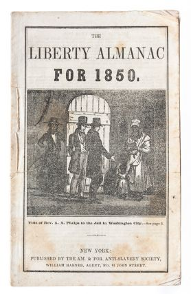 Image 1 of 5 for The Liberty Almanac for 1850