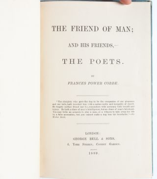 Image 5 of 8 for The Friend of Man; And his Friends the Poets (Presentation Copy