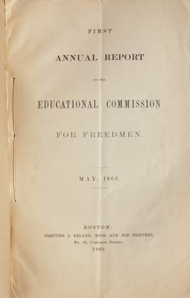 Image 4 of 6 for First Annual Report of the Educational Commission for Freedmen