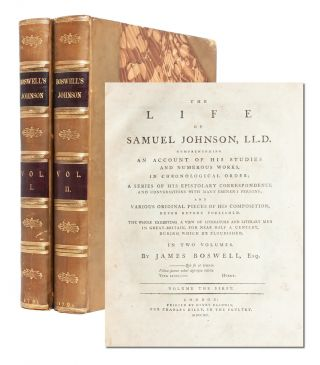 Image 1 of 9 for The Life of Samuel Johnson (in 2 vols