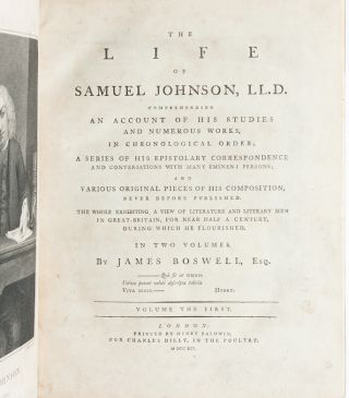 Image 6 of 9 for The Life of Samuel Johnson (in 2 vols