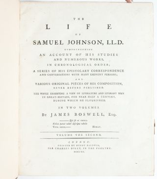 Image 7 of 9 for The Life of Samuel Johnson (in 2 vols