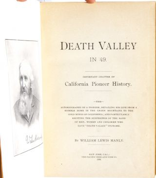 Image 4 of 7 for Death Valley in '49