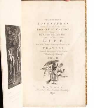 The Life and Strange Surprizing Adventures of Robinson Crusoe (in 2 vols.)