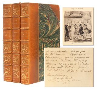 Image 1 of 9 for Jack Sheppard. A Romance (in 3 vols.) [with original Cruikshank illustration and...