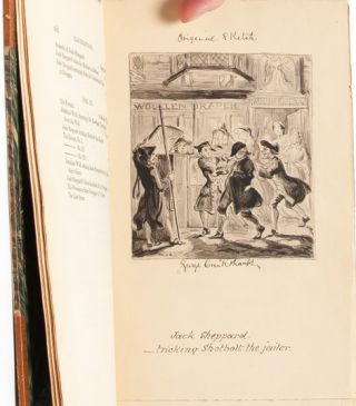 Image 7 of 9 for Jack Sheppard. A Romance (in 3 vols.) [with original Cruikshank illustration and...