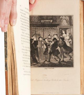 Image 8 of 9 for Jack Sheppard. A Romance (in 3 vols.) [with original Cruikshank illustration and...