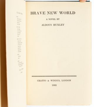 Image 6 of 8 for Brave New World