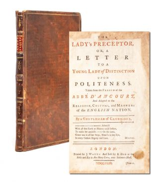 Image 1 of 7 for The Lady's Preceptor, Or a Letter to a Young Lady of Distinction upon Politeness
