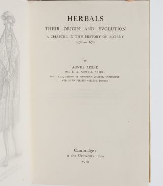 Image 4 of 8 for Herbals, Their Origin and Evolution: A Chapter in the History of Botany...