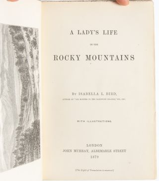 Image 5 of 8 for A Lady's Life in the Rocky Mountains (Presentation Copy