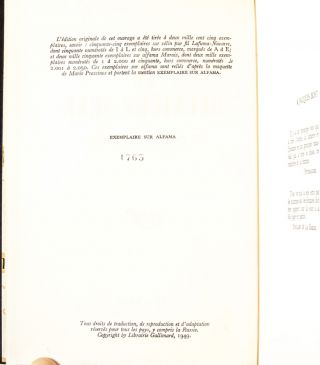 Image 4 of 8 for Le Deuxieme Sexe (in 2 vols