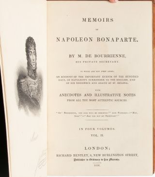 Image 8 of 13 for Memoirs of Napoleon Bonaparte