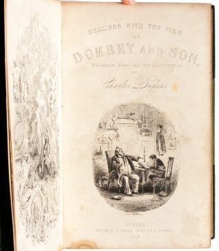Image 4 of 8 for Dombey and Son (Extra-illustrated