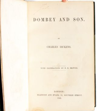 Image 5 of 8 for Dombey and Son (Extra-illustrated