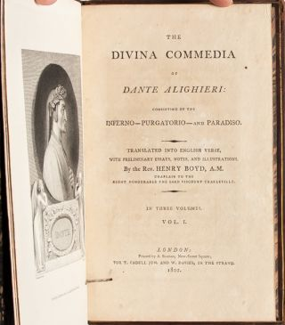 Image 5 of 9 for The Divina Commedia of Dante Alighieri, Consisting of the Inferno - Purgatorio -...