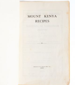 Image 4 of 6 for Mount Kenya Recipes
