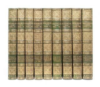 Image 1 of 8 for The Dramatic Works of Shakespeare (in 9 vols
