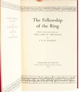 Image 6 of 10 for The Lord of the Rings Trilogy, comprised of: The Fellowship of the Ring; The...