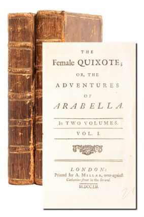 Image 1 of 8 for The Female Quixote, or The Adventures of Arabella (in 2 vols