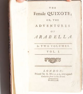Image 4 of 8 for The Female Quixote, or The Adventures of Arabella (in 2 vols