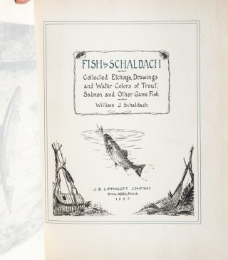 Image 5 of 8 for Fish by Schaldach: Collected Etchings, Drawings, and Watercolors of Trout and...