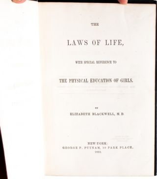 Image 4 of 7 for The Laws of Life, with special reference to the Physical Education of Girls