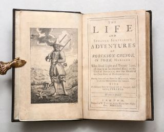 Image 1 of 7 for The Life and Strange Surprizing Adventures of Robinson Crusoe, of York, Mariner:...