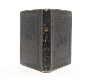 Literary and artistic commonplace book, owned by a young woman with connections to Washington Female Seminary and Jefferson College