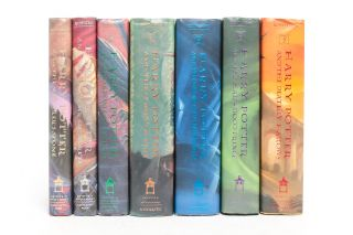 Complete Harry Potter Series, Including: Harry Potter and the Sorcerer's Stone; Harry Potter and the Chamber of Secrets; Harry Potter and the Prisoner of Azkaban; Harry Potter and the Goblet of Fire; Harry Potter the Order of the Phoenix; Harry Potter and the Half-Blood Prince; Harry Potter and the Deathly Hallows