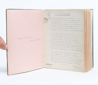 Image 2 of 8 for Literary and Artistic Commonplace Book of a Young Woman at the Turn of the Century