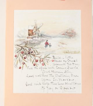 Image 3 of 8 for Literary and Artistic Commonplace Book of a Young Woman at the Turn of the Century