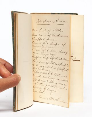 Image 5 of 7 for Autograph recipe book of a woman involved in Ohio's housing settlement project