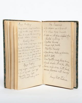 Image 6 of 7 for Autograph recipe book of a woman involved in Ohio's housing settlement project