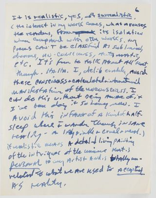 Image 1 of 8 for Lengthy Autograph Letter Signed, including his thoughts on the state of American...