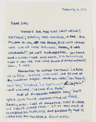 Image 6 of 8 for Lengthy Autograph Letter Signed, including his thoughts on the state of American...
