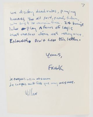 Image 7 of 8 for Lengthy Autograph Letter Signed, including his thoughts on the state of American...