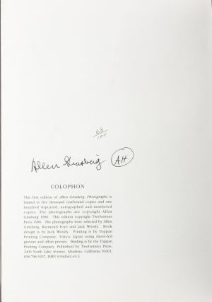 Image 8 of 8 for Allen Ginsberg: Photographs (Signed Limited