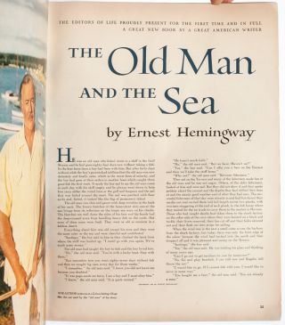 Image 5 of 8 for Life Magazine -- The Old Man and the Sea, a Complete New Book First Publication