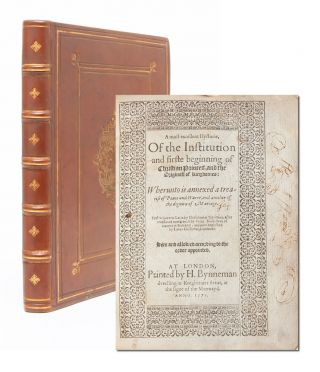 Image 1 of 7 for A Most Excellent Hystorie, of the Institution and Firste Beginning of Christian...