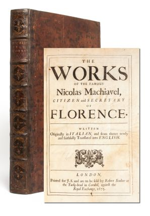 Image 1 of 8 for The Works of the Famous Nicolas Machiavel, Citizen and Secretary of Florence....