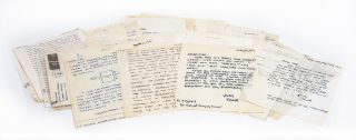 Image 1 of 6 for The largest known collection of Frank Stanford letters, with content on his...