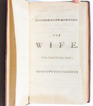 Image 4 of 8 for The Wife. By Mira, one of the authors of The Female Spectator and Epistles for...