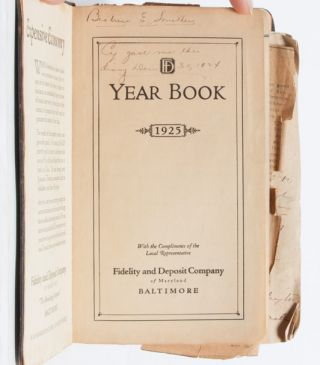 One year in the life of a young woman, educated, socially active, and employed in the years following suffrage