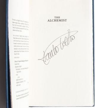 The Alchemist (Signed First Edition)