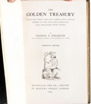 Image 4 of 7 for The Golden Treasury, Selected from the Best Songs and Lyrical Poems in the...